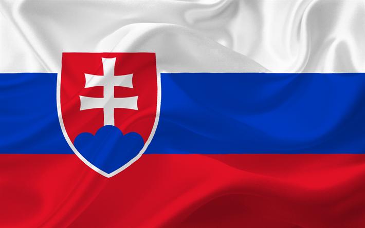 Descargar Fondos De Pantalla Eslovaca Bandera Republica Eslovaca