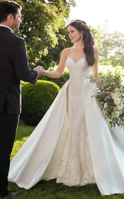 Vintage-Inspired Glamorous Wedding Dress   Pinterest   Wedding dress ...