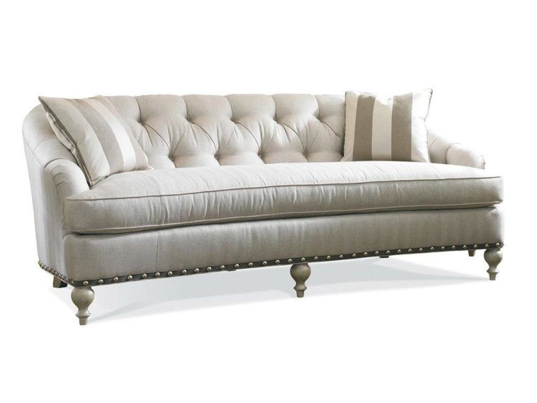 Gentil Vintage Single Cushion Sofa With Tufted Back And