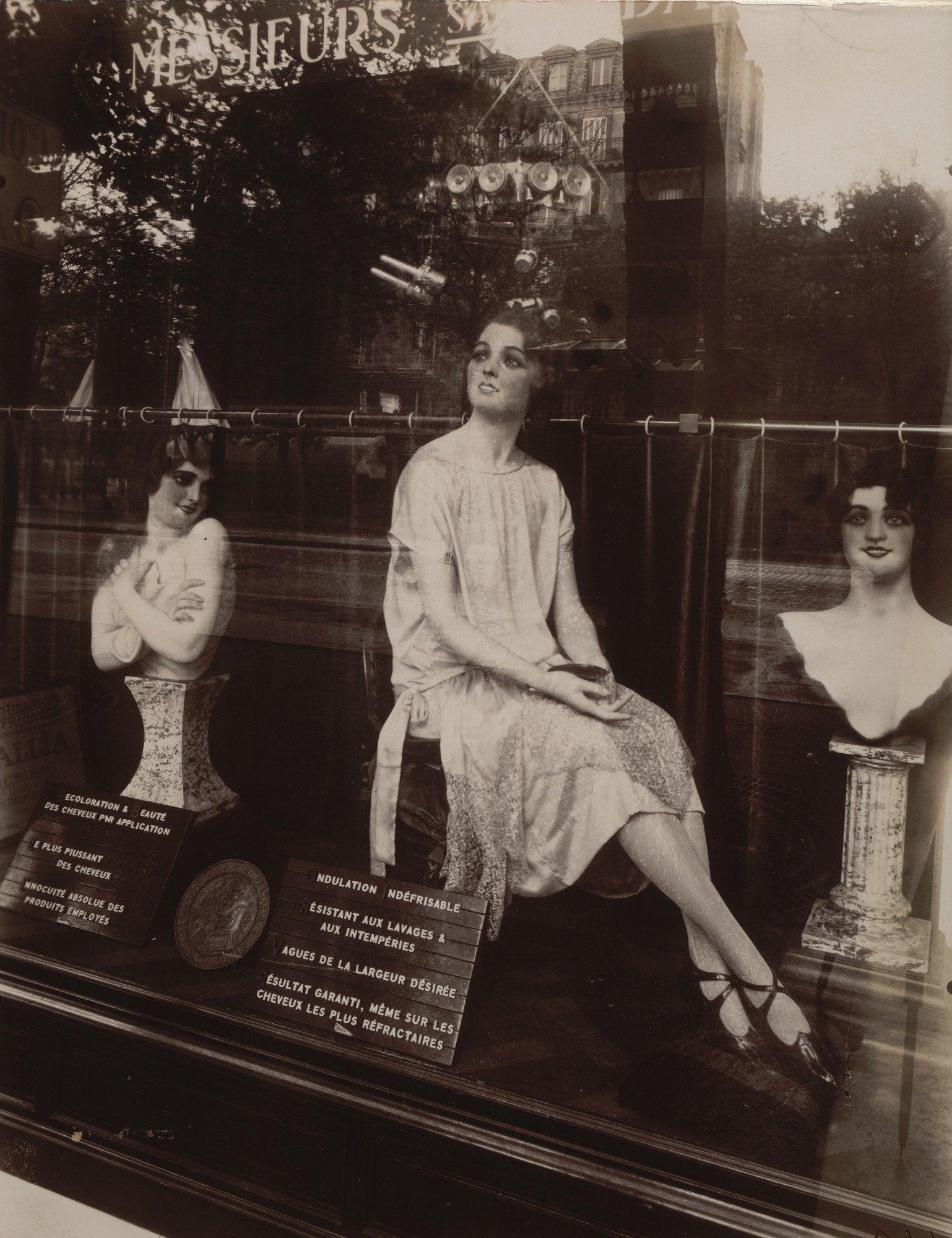 Eugene Atget Coiffeur Avenue De L Observatoire 1926 Moma Eugene Atget Eugene Berenice Abbott
