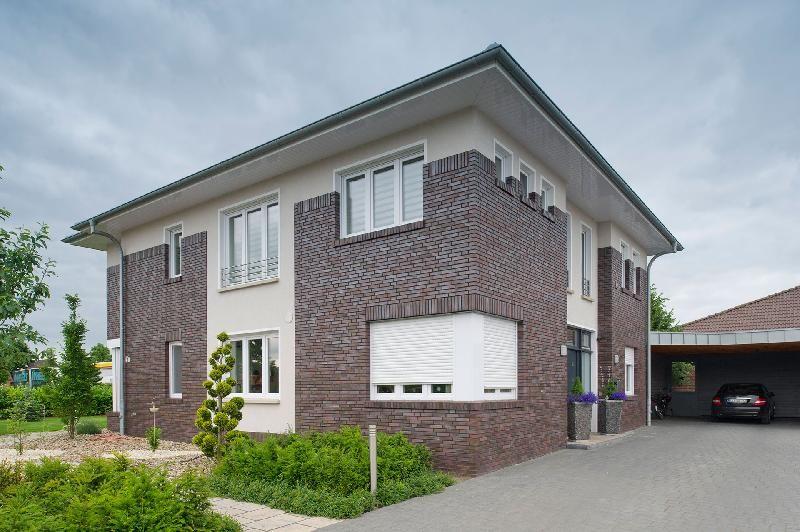 Haus bauen modern klinker  Haus B, Emstek | Fassaden | Pinterest | Fassaden, Klinker und Häuschen