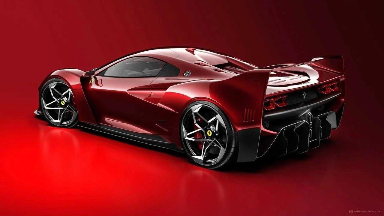 Ferrari F40 Tribute Render Ferrari F40 Concept Cars En Auto S