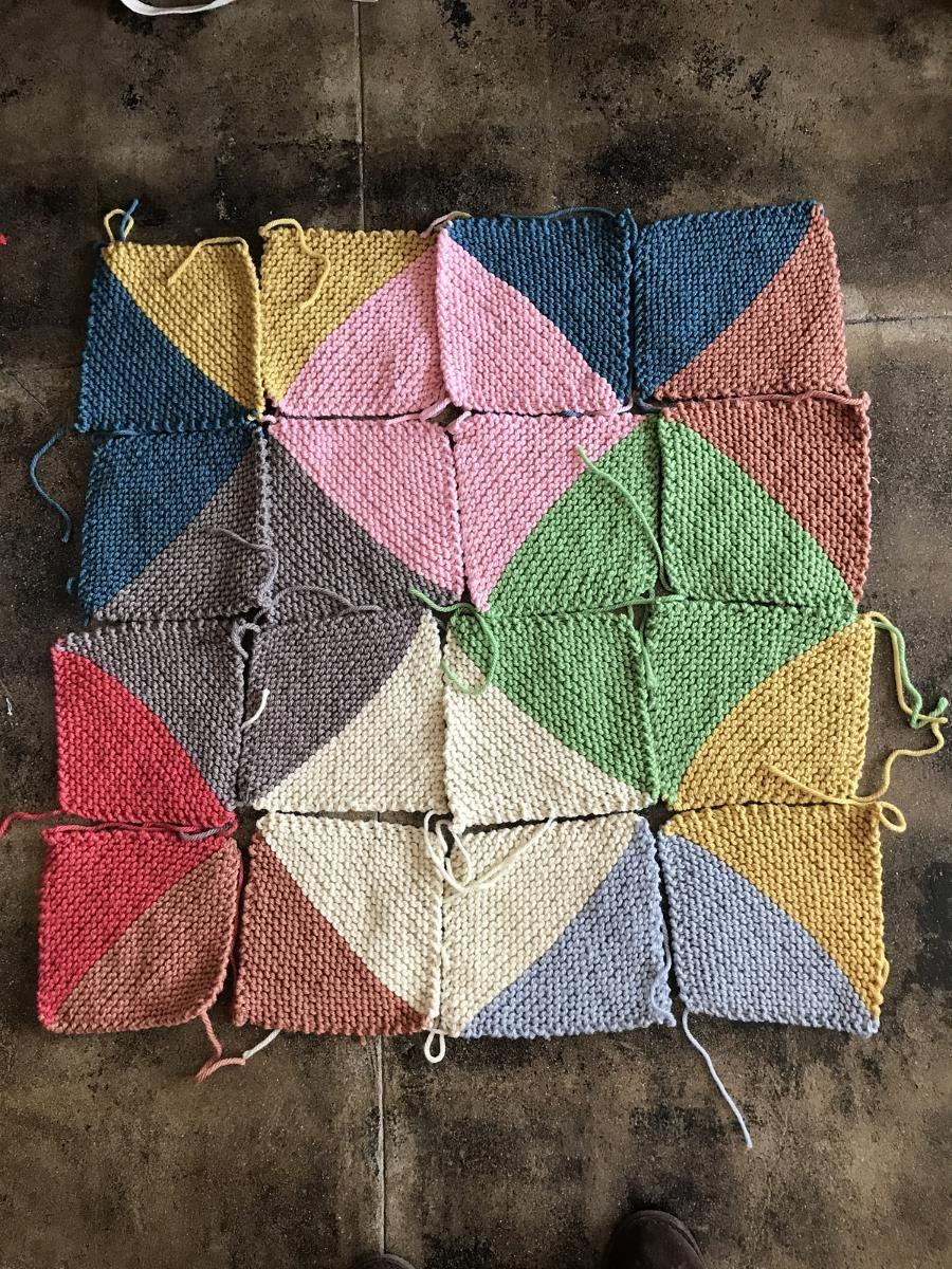 Come Together Blanket Easy Knitting Patterns Knitting Blocking Easy Knitting