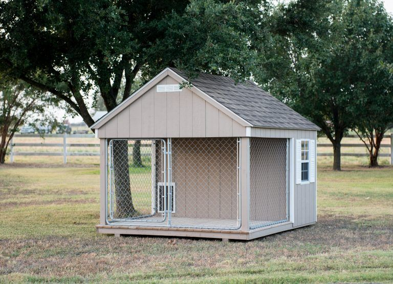 8x10 Dog Kennel For Sale | Lone Star Structures ...
