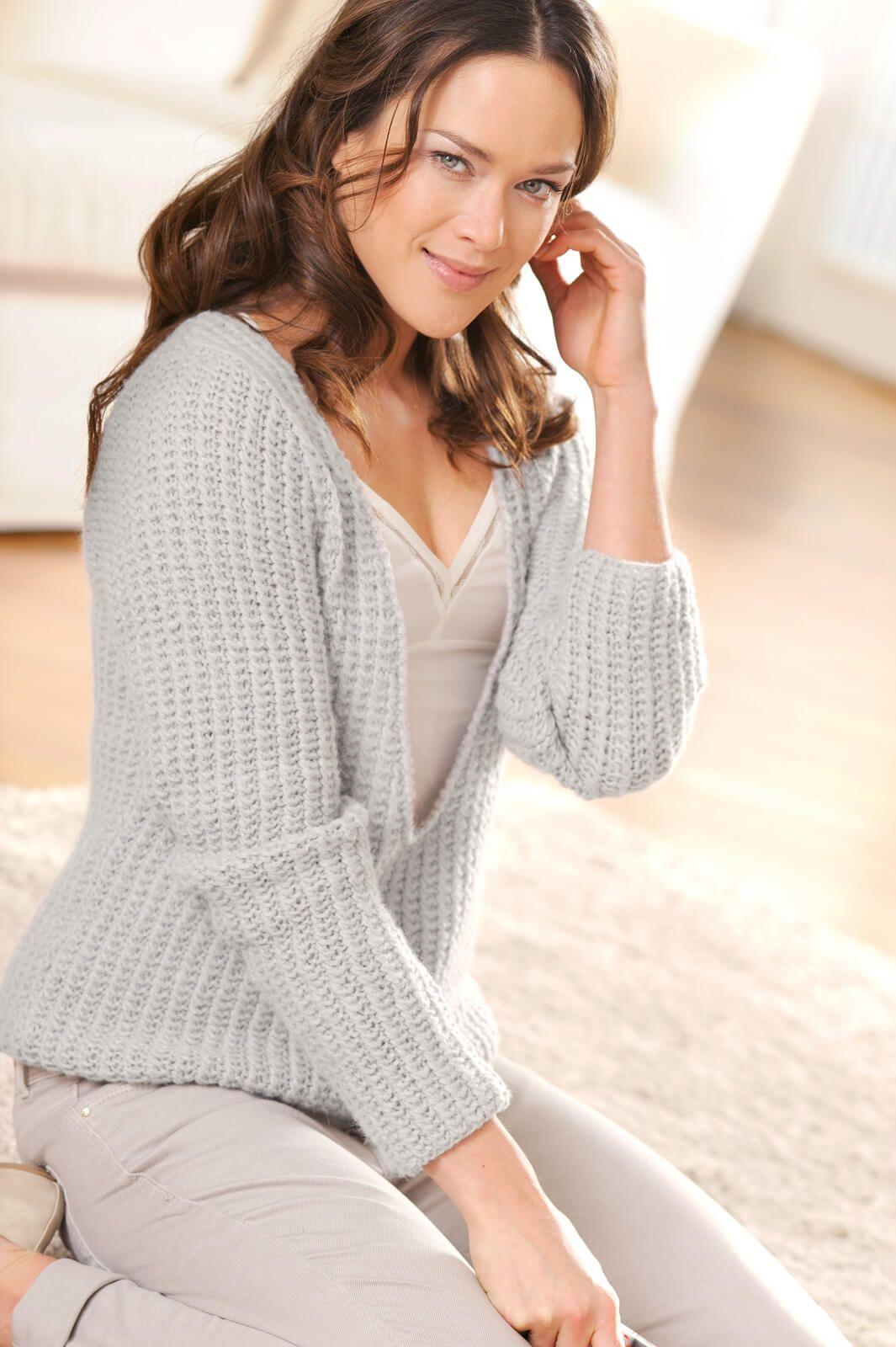 Damen-Pullover mit V-Ausschnitt | Pinterest | Pullover ...