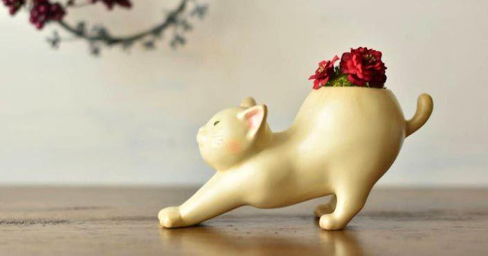Tieto ručne vyrábané kvetináče pre japonský obchod Harimogura vám rozhodne vyčaria úsmev na tvári. Roztomilé! Handmade, mini kvetináče, dizajn, umenie