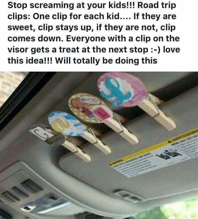 Great Road Trip Ideas: Road Trip Reward System. Great Idea!
