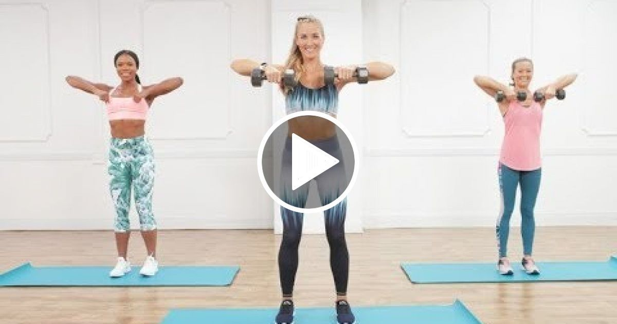 30-Minute Calorie-Torching Cardio Workout With Weights #cardioworkouts 30-Minute Calorie-Torching Ca...