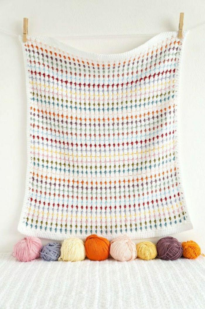 43 Stilvolle Modelle Decken Zum Häkeln Stricken Und Häkeln