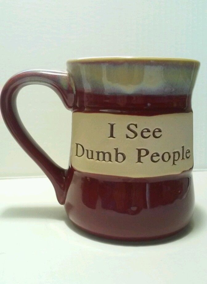 I See Dumb People Coffee Mug