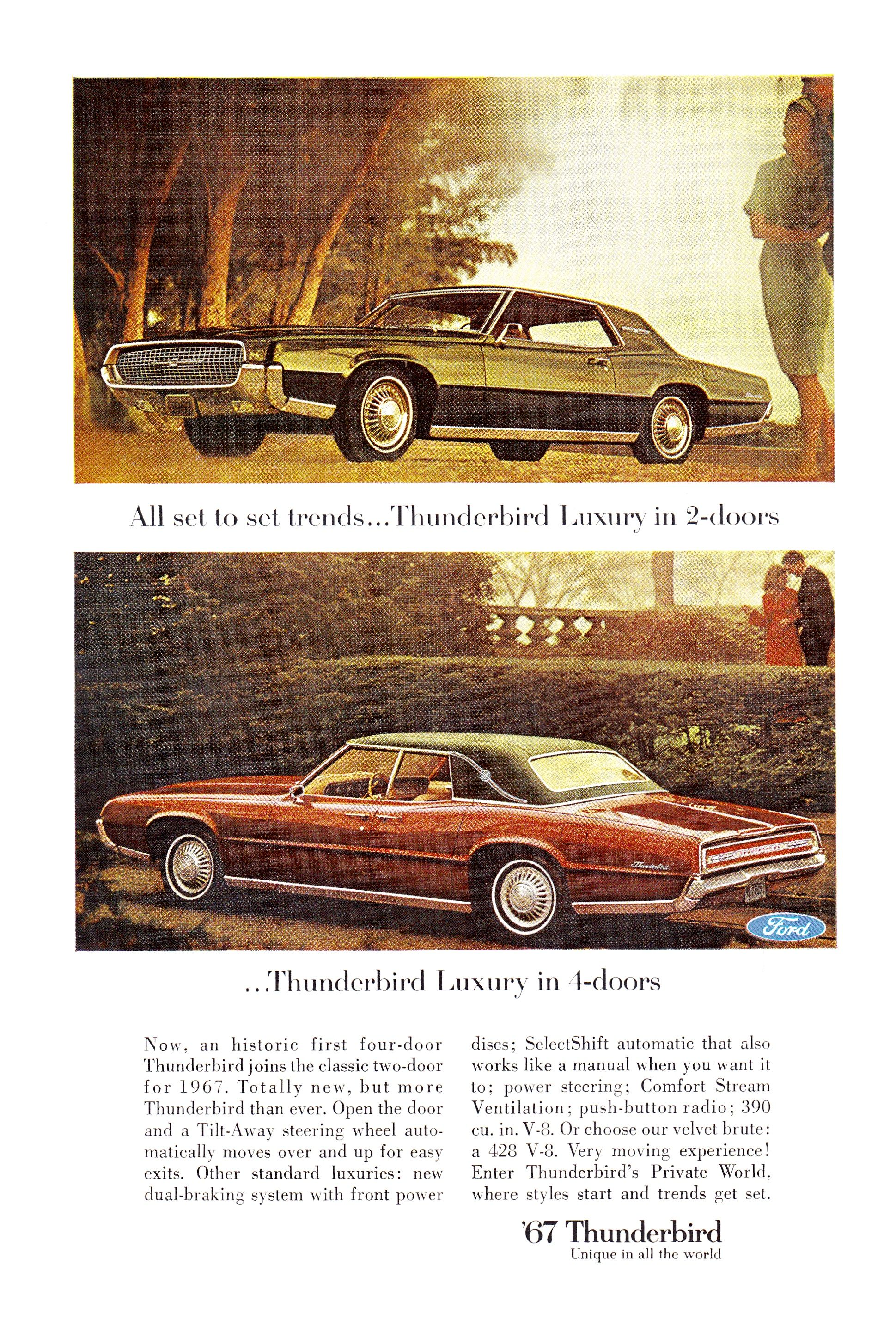 1967 Thunderbird Ford Thunderbird Thunderbird Car Ford