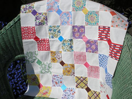 Bow tie quilt wip quilting pinterest fabrics quilt tutorials bow tie quilt wip six inch bow tie blocks machine pieced using vintage feedsack fabrics modern solids muslin i saw the teeny picture of a vintage ccuart Image collections