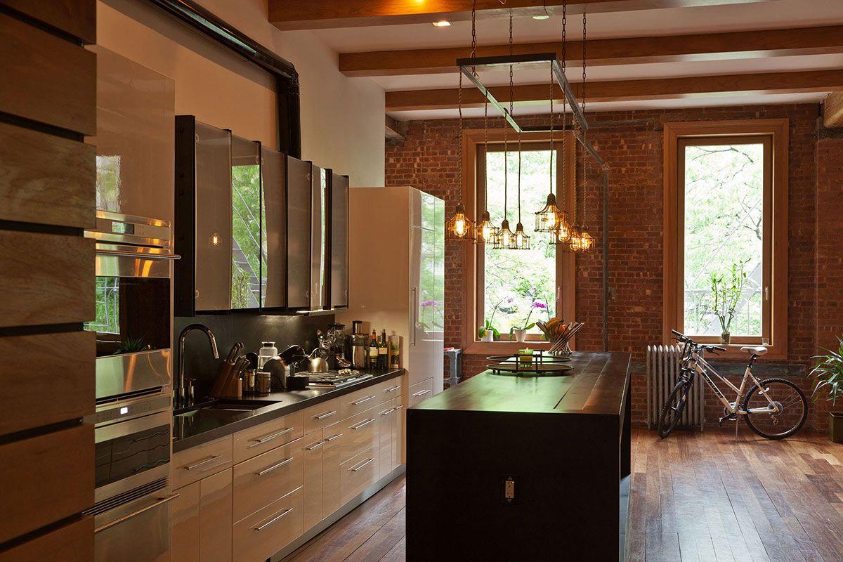 Bonito Cocinas Contemporáneas Nueva York Bandera - Como Decorar la ...