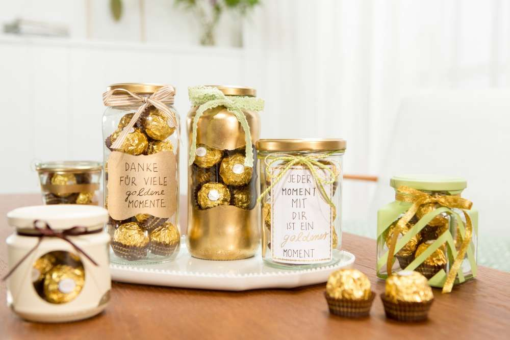 Ferrero Rocher Goldene Inspirationen  Kreieren Sie