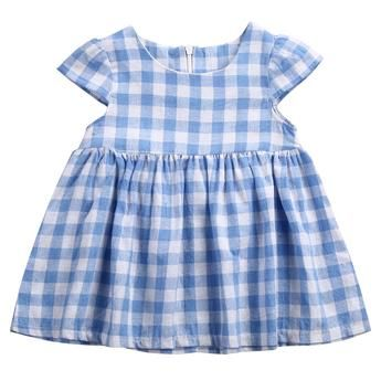 Dorthy Checkered Dress - Baby Girl