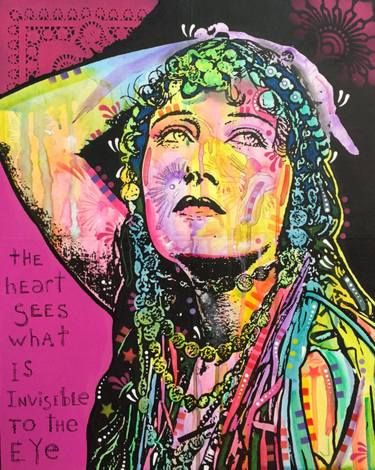 Gloria Swanson - The Heart Sees - (Pink)