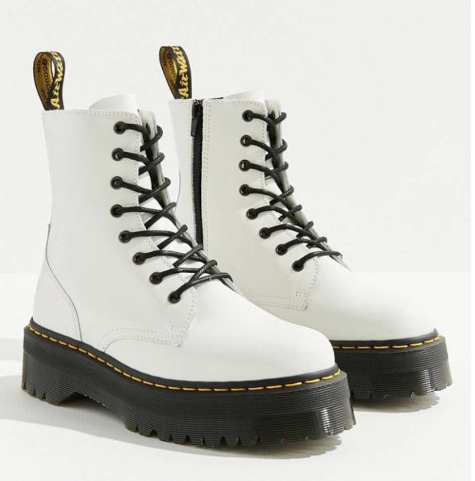 doc martens in 2020 | Boots, White