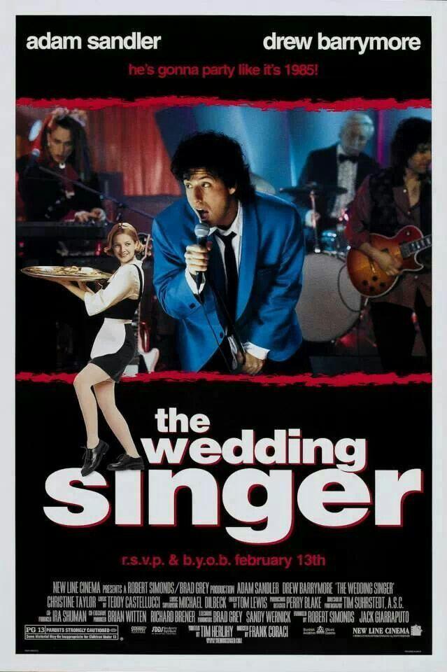 The Wedding Singer Filme Da Vida Comedias Romanticas Cartazes De Cinema