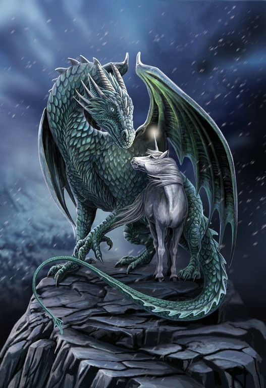 Photo of Lisa Parker- fantasy artist. cats, unicorns,witches, wolves and dragons with a magical twist,