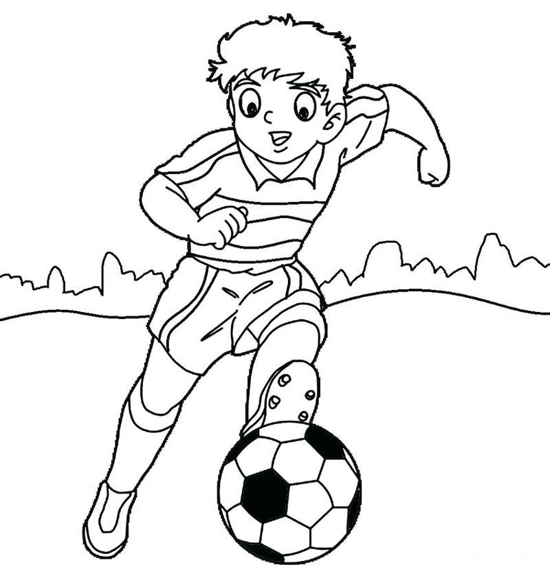 Cool Collection Of Soccer Coloring Pages Free Coloring Sheets Sports Coloring Pages Football Coloring Pages Coloring Pages