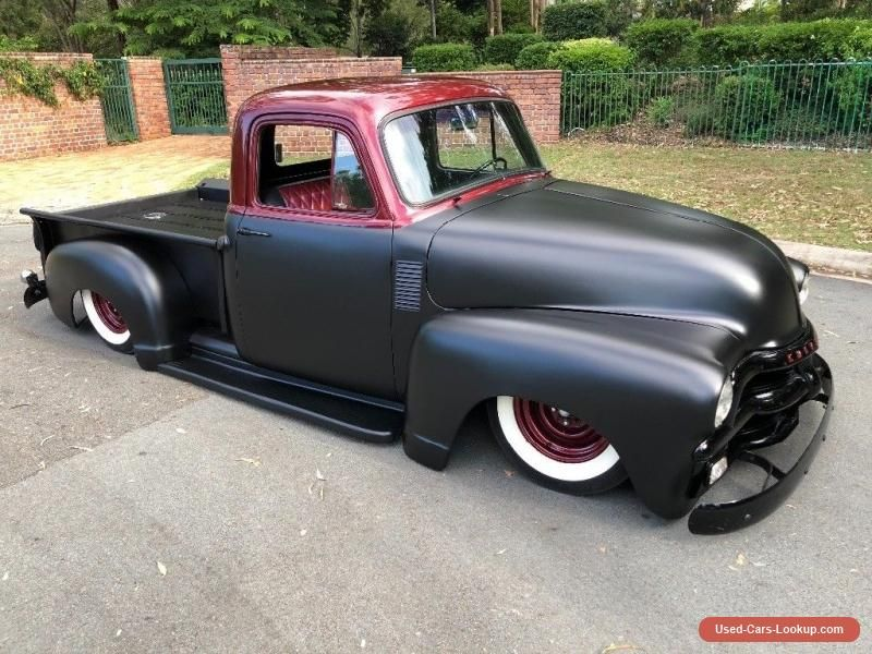 Car For Sale Chevrolet Pickup Truck 1954 Air Bagged Big Block Hot