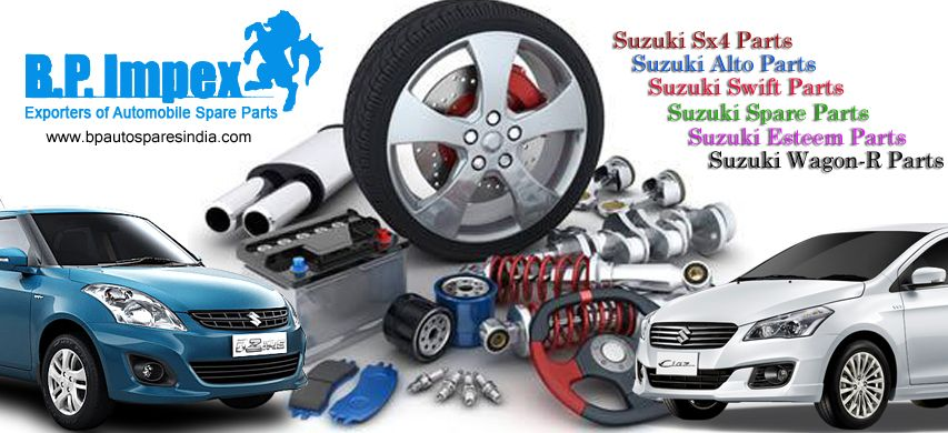 suzuki owners on the lookout of suzuki car spare parts, may visit