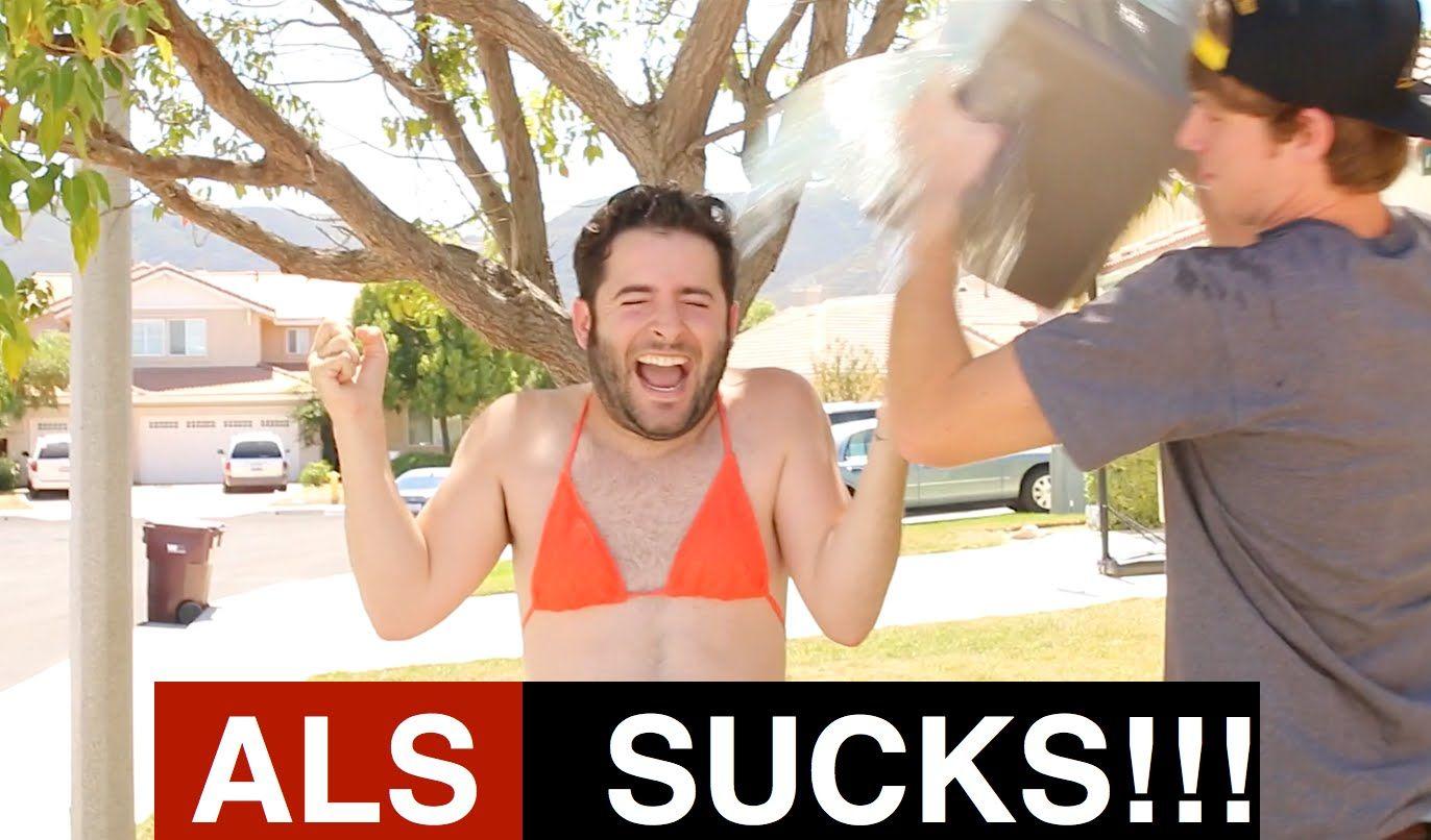 ALS ICE BUCKET CHALLENGE - UNCENSORED & SEXY?