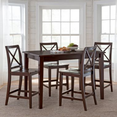 Dining Possibilities 5 Pc Counter Height Rectangular Set Found At JCPenney