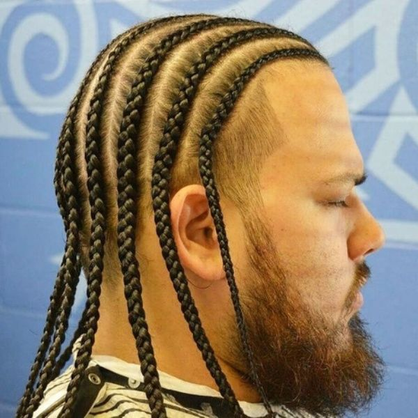 25 Most Interesting Men Braids Hairstyles Ideas For Mens