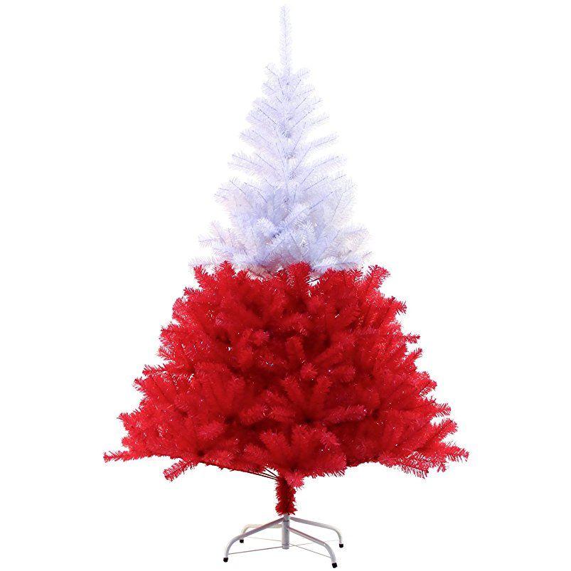 Amazon Künstlicher Weihnachtsbaum Mit Beleuchtung | Hiskol 180 Cm Ca 930 Astspitzen Kunstlicher Weihnachtsbaum