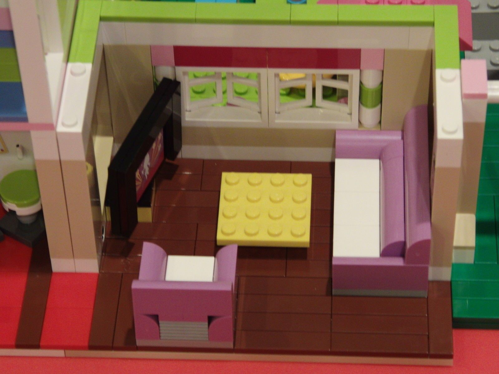 Lego Friends 3315 Olivias House Living Room Floor Remodeling Kit