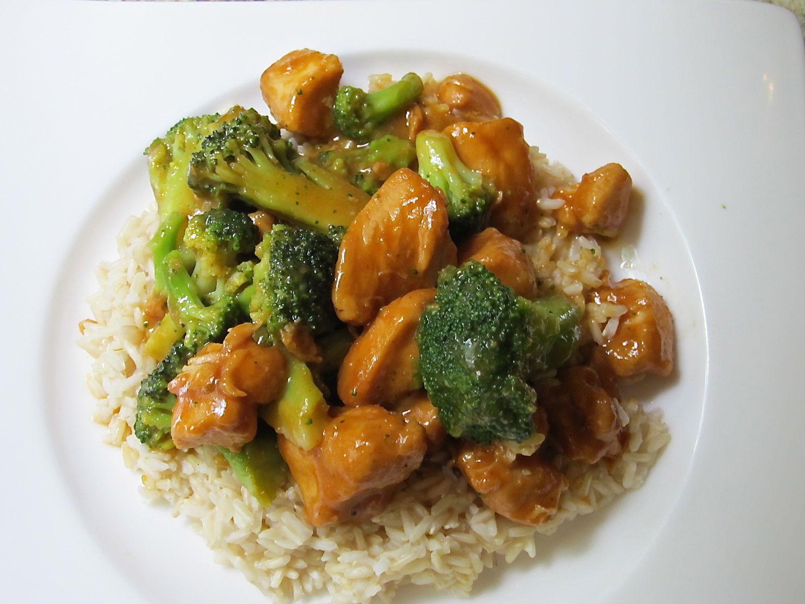 oriental chicken broccoli