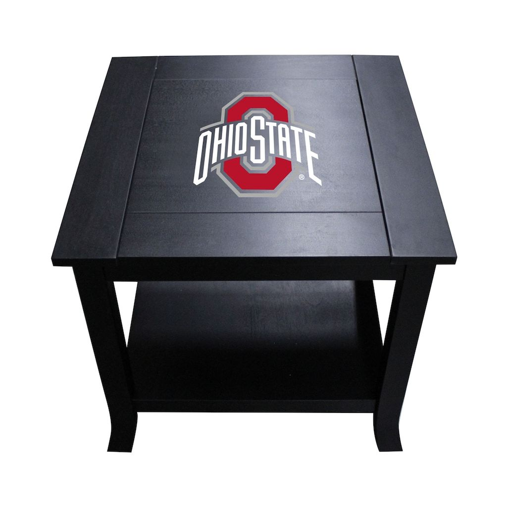 Ohio State Buckeyes Side Table