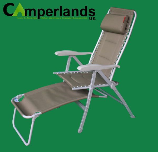 Padded Camping Chair Design Wood Deluxe Reclining Camperlands Furniture 2017