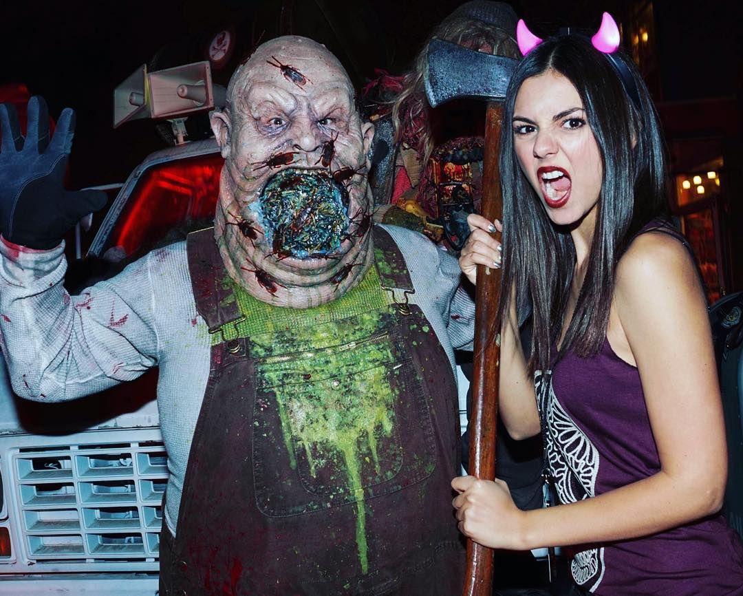 Victoria Justice — IDFWU!! Thank you Halloween Horror Nights &...