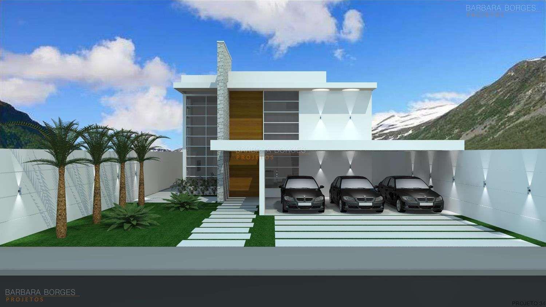 Fachadas de sobrados fachadas de casas modernas for Arquitectura y diseno de casas modernas