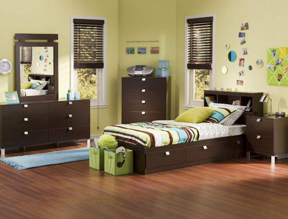 Green And Brown Bedroom Beauteous The Beautyful Interior Design In Boys Bedroom Idea With Smart Review