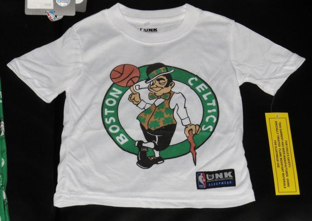 huge discount ba7e6 09caf Boston Celtics Shirt & Pants NEW Gift Set Boys NBA Store ...