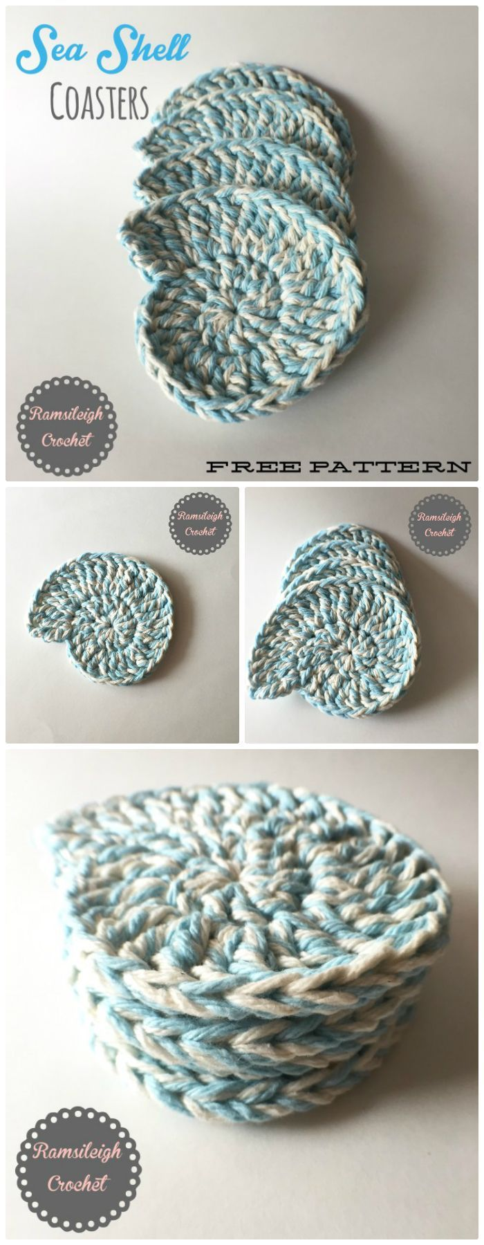 70 Easy Free Crochet Coaster Patterns For Beginners Crafty Crap