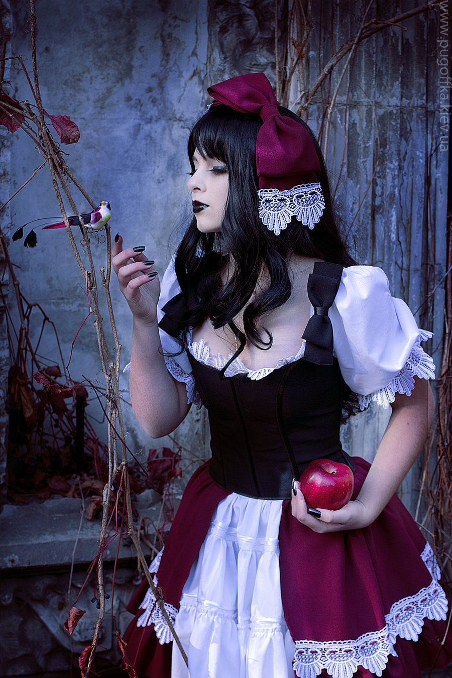 "Gothic Snow White 1 ~ Viktoria aka  ""KasumiDream"""