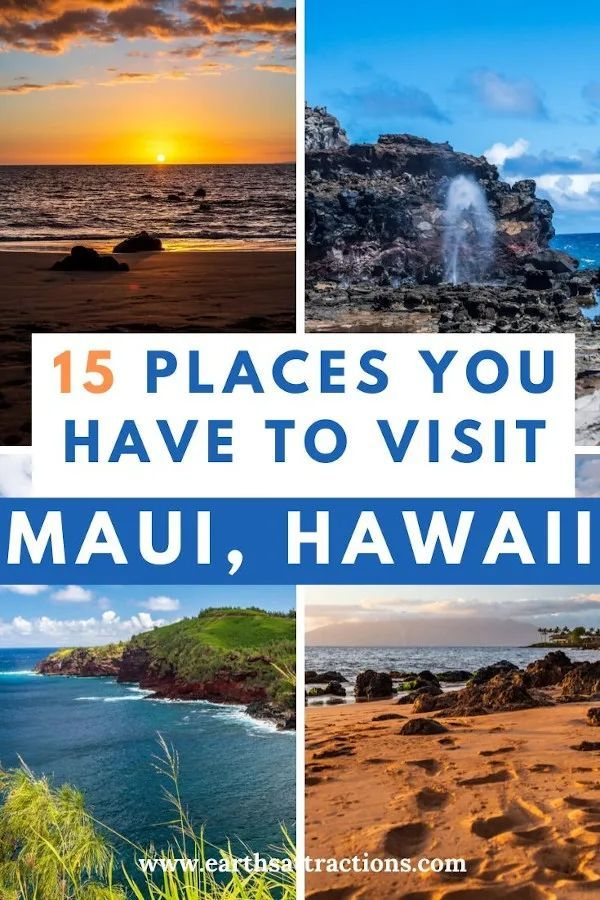 The best places to visit in Maui, Hawaii, USA! Add these amazing Maui things to do on your Maui bucket list! Discover what to do in Maui now - read this Maui travel blog! #maui #mauihawaii #mauithingstodo #usa #usatravel #traveldestinations #thingstodo #earthsattractions
