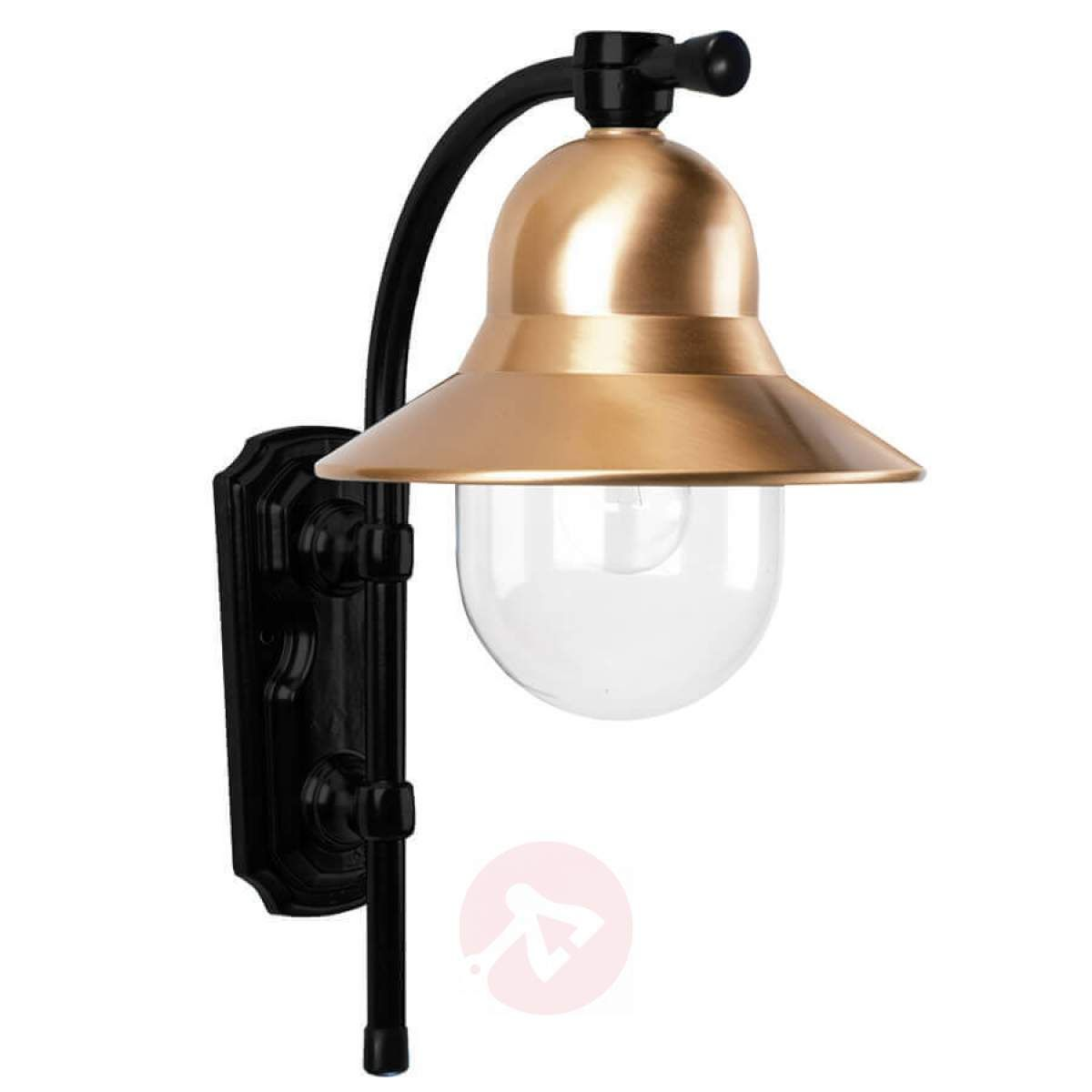 Zewnetrzna Lampa Scienna Toscane Czarna Wall Lights Lamp Sconces