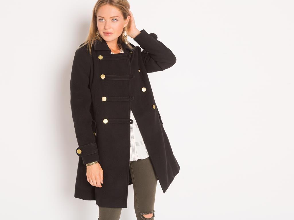 Parka femme manteau redingote femme