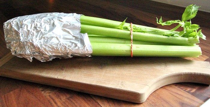How To Keep Celery Fresh So That It Actually Lasts More Than 5 Minutes In Your Fridge Great Trick Food How To Store Celery Food Hacks