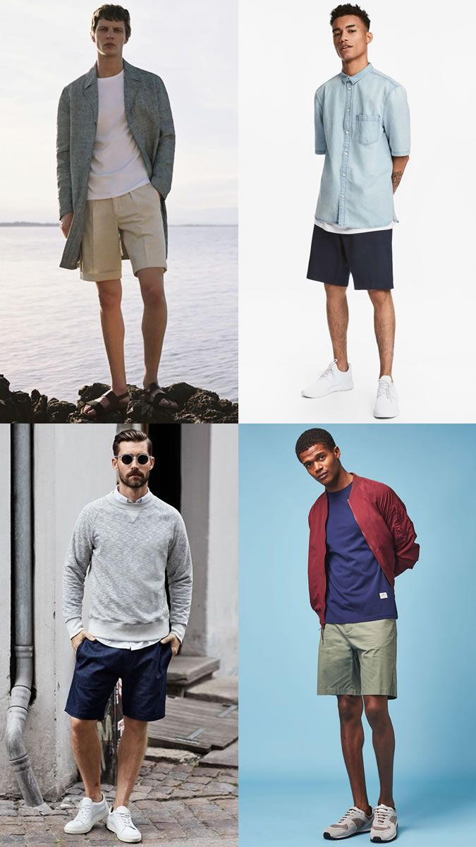 Men\u0027s Loose Fitting Shorts Trend for Summer 2018 Outfits Lookbook  Inspiration