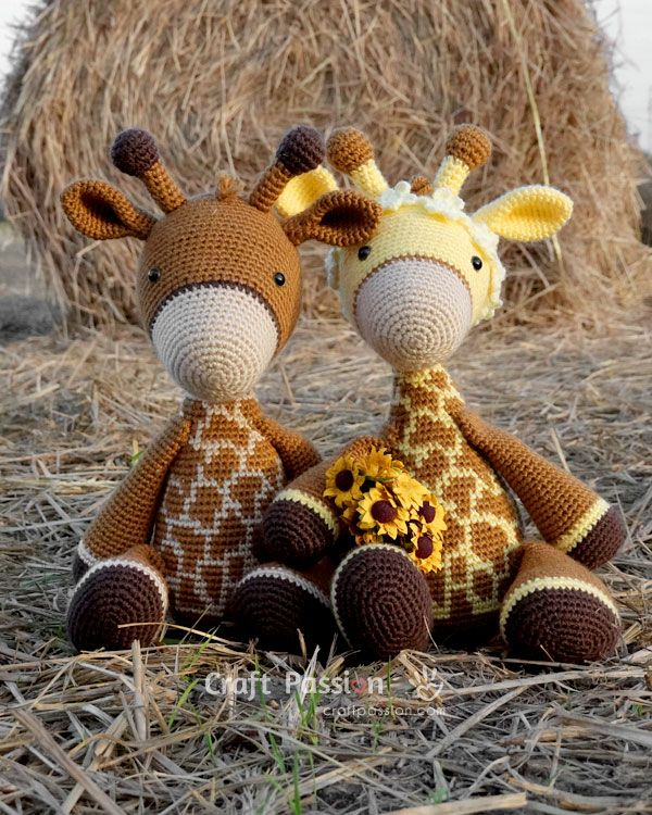 Giraffe Amigurumi Free Crochet Pattern • Craft Passion