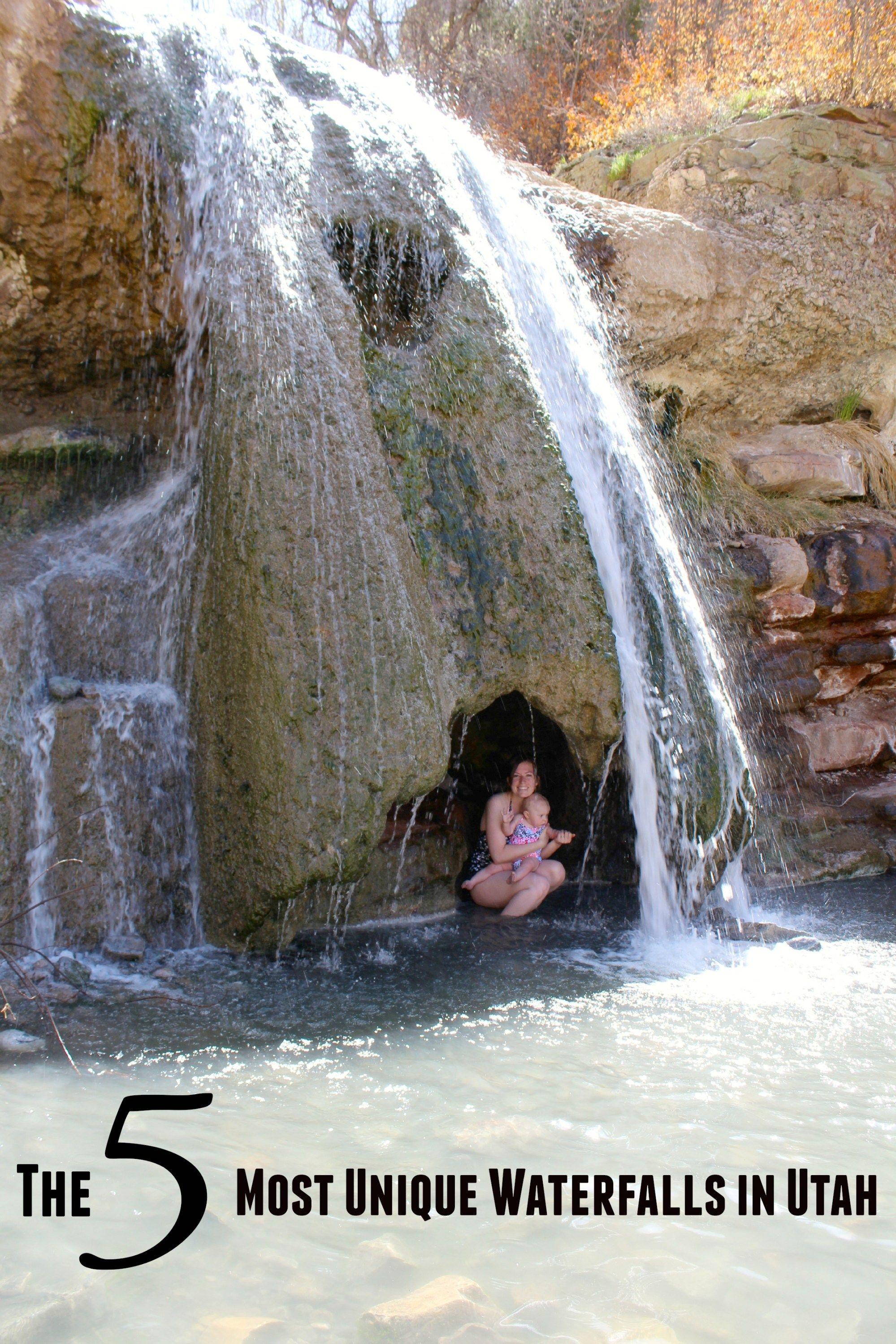 The 5 Most Unique Waterfalls In Utah Utah Road Trip Utah Travel
