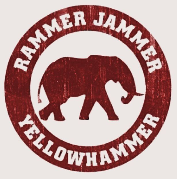 Rammer jammer yellow hammer give em hell alabama
