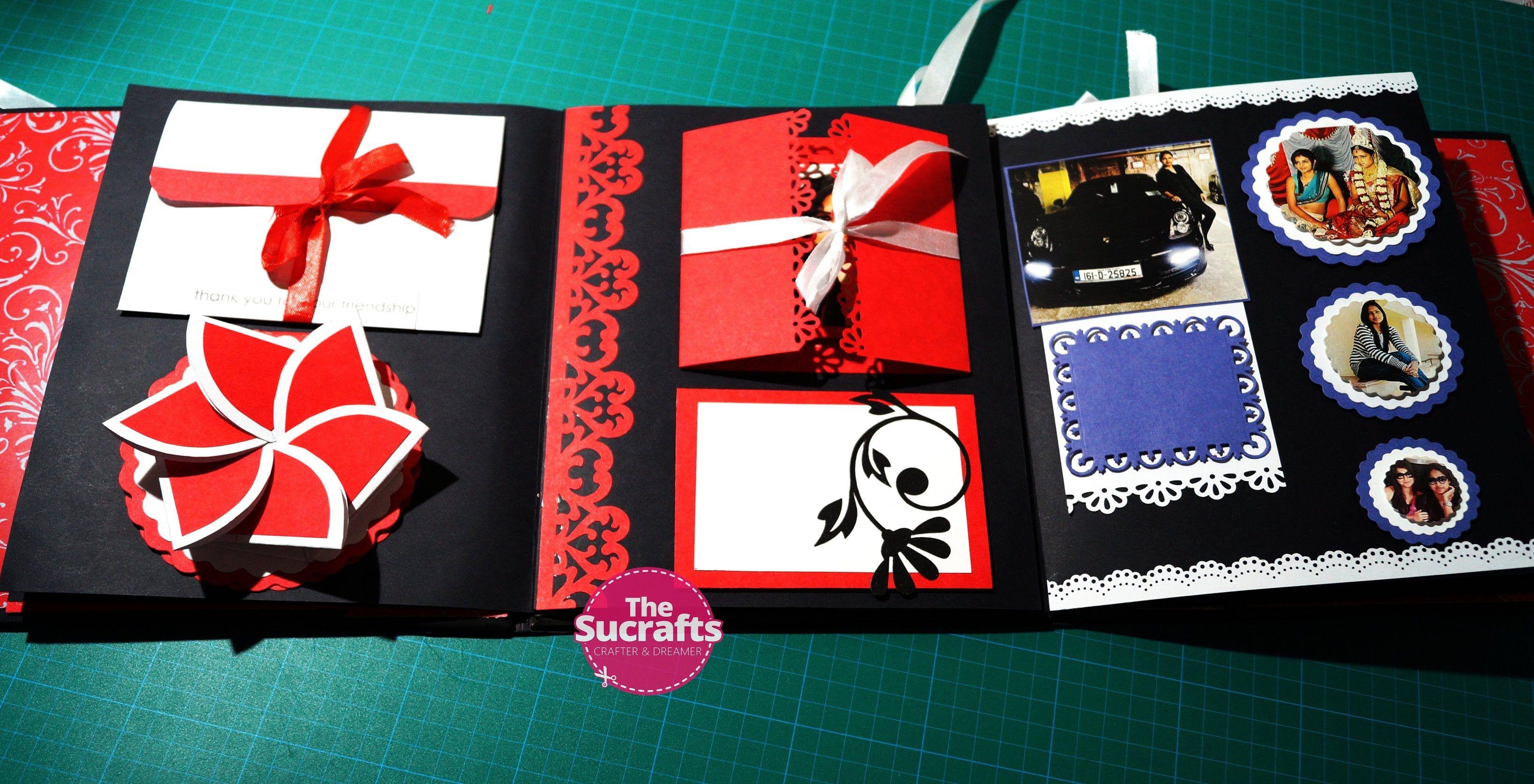 Diy mini album scrapbook for boyfriend 2014 youtube - Birthday Scrapbook For Best Friend The Sucrafts