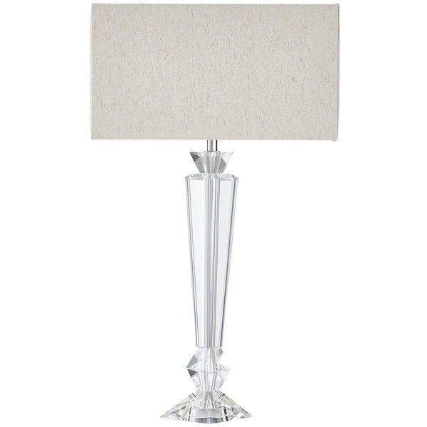 Luxe Collection Ferrara Crystal Base Lamp 590 Dkk Liked On Polyvore Featuring Home Lighting Table Lamps Crystal Base Table Lamp Table Lamp Lamp Crystals